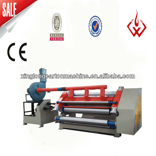 SF 280S-360S carton machine single face corrugated machie