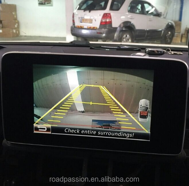 Mercedes NTG4.5 A/B/C/CLS/E/GLK/ML class Rear Camera Integration System