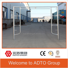 Frame Scaffolding system stainless steel balustrade/outdoor commodities/doors and windows