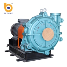high head wear resistant solid waste pump with metal wet parts