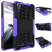 pc tpu dual layer Shockproof Phone Case Cover for Lenovo A6000 plus