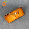 Soft leather sunglass case Vintage with key chain sunglass bags wholesale
