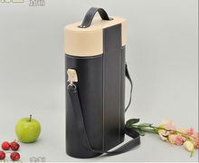2013 new design basket wine bottle carriers