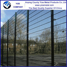 powder painting 358 welded mesh fence, 358 mesh, spraying plastics anti-climb fence