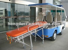 Durable big power electric ambulance car 3kw with big place