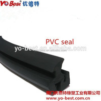 wearable Silicone Shower Door Seal Strip/Silicone extruded Strip