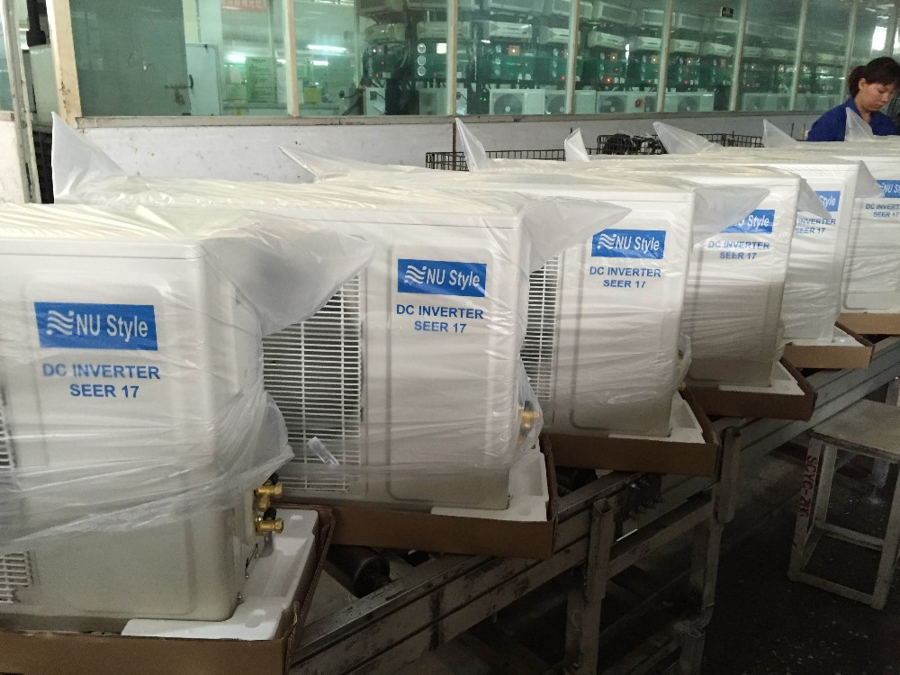 Black Mirror Air Conditioner( R22/R410a, Inverter/Non-inverter, 9000BTU, 12000BTU, 18000BTU, 24000BTU)