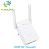 300Mbps Dual RJ45 Ports Repeater WiFi