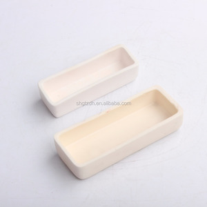 Gold melting alumina crucible for lab test