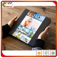 China professional publisher wholesale gold quality fold glossy film lamination offset coffee table book printing