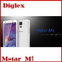 Hot wholesale Cell Phone Mstar M1 mtk6752 Octa Core DUAL SIM 4G LTE 3G WCDMA Phone 1gb ram 16gb rom