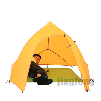 20D nylon fabric wall tents outdoor camping tent