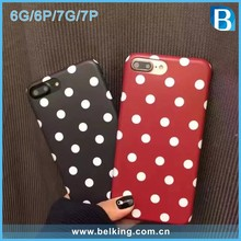 2017 Lovely IMD Dot Spotted Soft TPU Cover for iPhone 7 Case