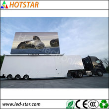 iran hot video p16 led advertising truck display screen