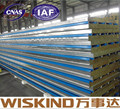 WISKIND Excellent rockwool sandwich panel