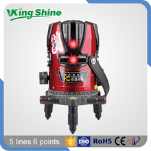 Decoration 360 rotary beam laser level 5 lines 6 points