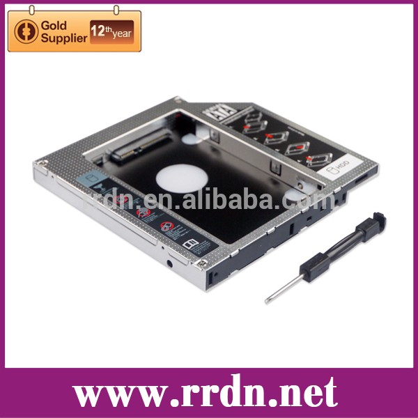 12.7mm Universal Optical Bay Hard Drive Caddy with screw driver buckle