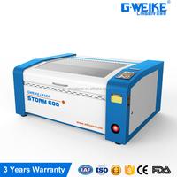 Mini laser engraving machine 600*400mm / 60w 40w reci co2 laser cutting/ Portable mini laser good price