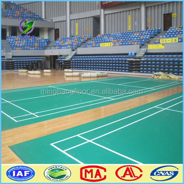 removable portable recycled PVC Basketball Flooring Prices