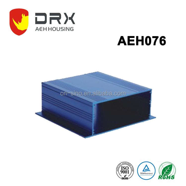 aluminum customized industry using Extrusion Enclosure for PCB aluminum enclosure aluminum extruded enclosure/cases