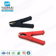 100mm Car Battery Terminal Alligator Crocodile Clamp Clip with PVC