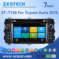 7'' touch screen car radio for toyota auris 2013 radio player