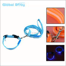 Popular Customized Glowing Collars And Leashes For Dog