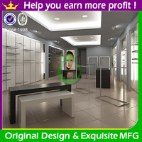 Modern fashion retail garment shop interior design with custom size