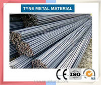 Steel Rebar, Deformed Steel Bar, Iron Rods For Construction/Concrete Material