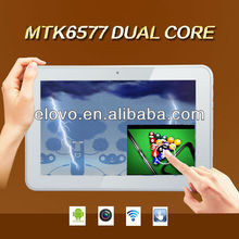 cheapest dual core mtk6577 mid tablet 9 inch with 3G calling function bluetooth
