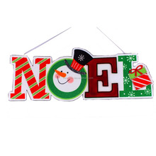 High Quality snowman Christmas hanging decoration noel ornament