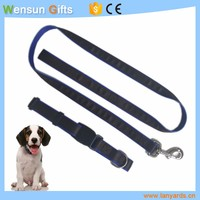 Fashion Strong dog leash PET strap with collar