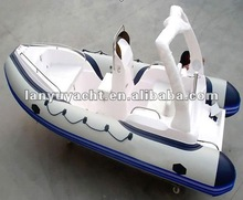 CE RIB boat/FRP inflatable boat/Rigid inflatable boat 520