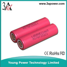 Rechargeable Batteries lg he2 18650 battery 35A 2500MAH high discharge