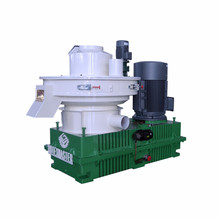 Hot Sale Straw Pellet Mill, Wood Pellet Machine, Rice Husk Pellet Press with Automatic Lubrication System