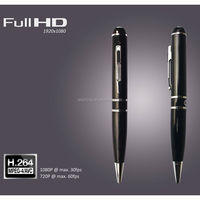 HD micro SD slot USB 2.0 mini hidden pen camera pen camera wifi