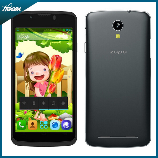 ZOPO ZP580 Mobile Phone MTK6572 Android Smartphone 512MB RAM 4GB ROM 4.5 Inch QHD IPS 5.0MP Camera 3G