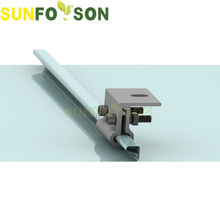 Convenience SunRack solar panel stand of Roof Hook/Aluminum solar clamp