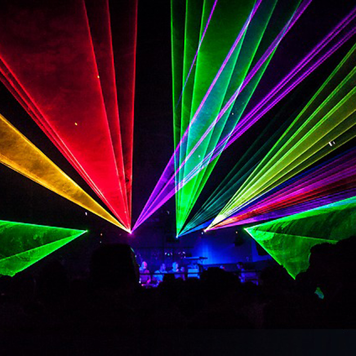 RGB 6W-30W Full Color Lasershow,6W RGB ILDA stage Full Color Laser light with Pangolin Quick show laser software