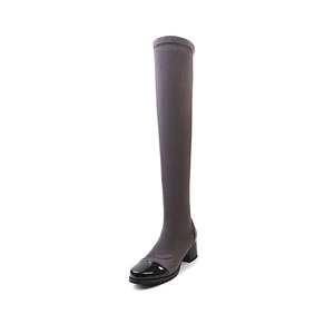 Explosion models fashion knight boots women knee boots