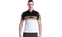 Men's Short Sleeve Outdoor Bicycle Road Bike Cycling Jersey Top Shirts