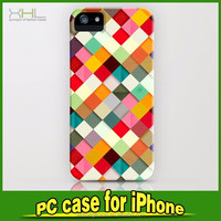 Ultrathin relief print oem design case for iPhone5/6/6plus