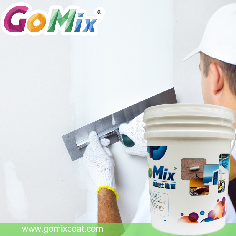 China supplier free sample GM12 exterior acrylic exterior wall putty