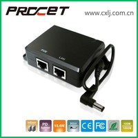 for non-poe support ip camera ip phone 5V 3A gigabit PoE splitter