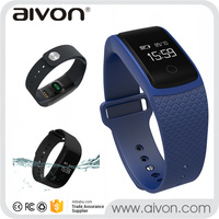Bluetooth Smart Bracelet A09 with Vibration, Pedometer and NRF52832QFAA Chipset,etc