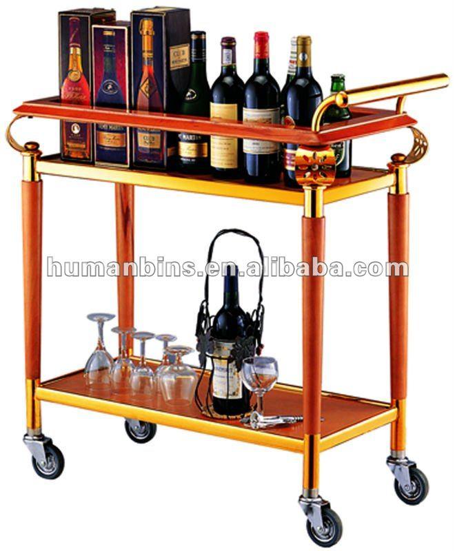 Bebidas carrito vino carro de servicio licor carro otros suministros para restaurantes y hoteles - Carrito bebidas ...