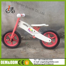 kids baby children wooden balance bicycle 2016 new model