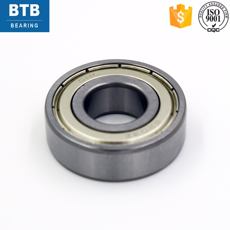 P0 (ABEC-1) deep groove ball bearing 6203 with dimension 17x40x12 mm