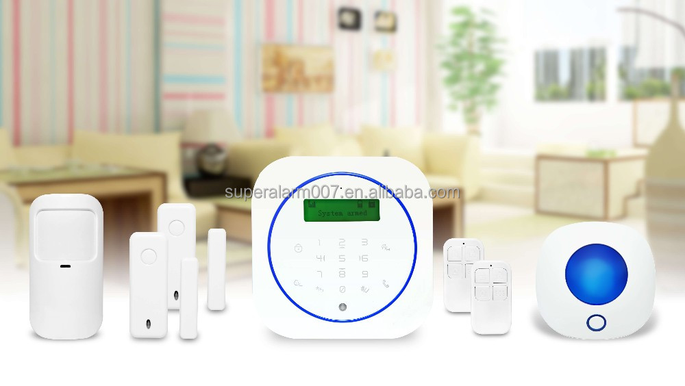Wireless GSM Burglar Alarm System Home Security System