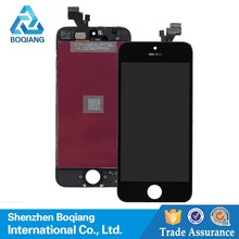 lcd digitizer with home button for iphone 5, for iphone 5 full lcd +digitizer assembly, replacement lcd panel for iphone 5